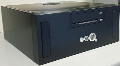 Hardbit Micro Desktop / Tower PC Computer Case / Chassis with Power Supply