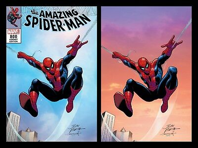 Amazing Spider-Man 800 John Romita Sr Sunset Virgin Variant Set Red Goblin New 1