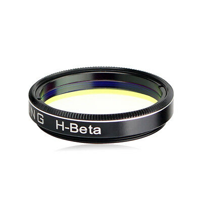 """OPTOLONG 1.25"""" H-Beta 25nm Telescope Filter Enhance for Visual Observation CO"""