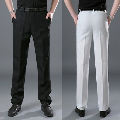 Mens Banquet Wedding Groom Suit Tuxedo Pant Trousers Adj Costume Theater Stage