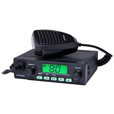 Oricom  Uhf025 Uhf Radio 80 Channel 5 Watt In Vehicle Radio Truck Cars 4Wd 12V