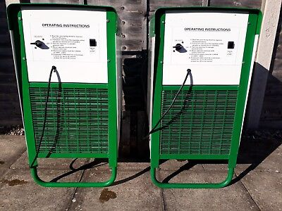 2 X Ebac BD150 Industrial Dehumidifiers - Excellent Condition.