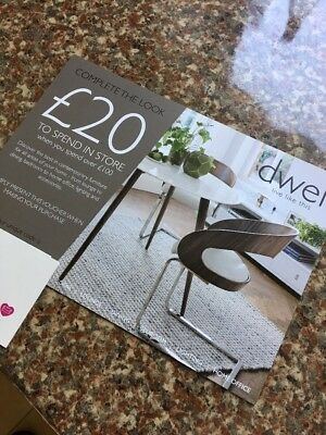 Dwell Voucher £20 Off £100. 20% Off £100 Spend. Use By 31 May 2018