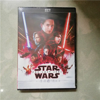 Free Shipping Star Wars Episode 8 Episode 8 - The Last Jedi (DVD, 2017) New!