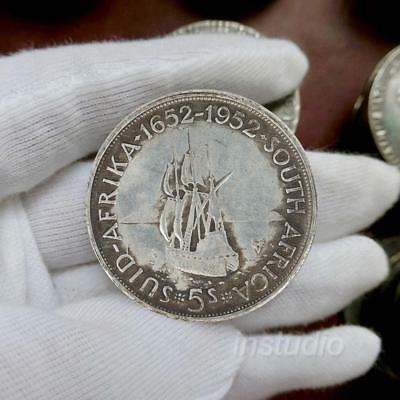1stk King George 6 /5 Rand Silver Coins Commemorative Coin Crafts Collection.DE