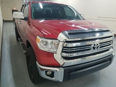 2017 Toyota Tundra SR5 DOUBLE CAB 2017 Tundra SR5 Double Cab. Red Over Black. Factory Warranty. $7k in wheel tires