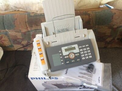 Philips faxJET 525 IPF Inkjet Fax Machine A4 Copier Telephone & SMS Boxed