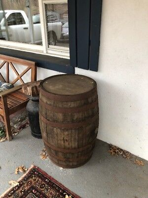 Real Jack Daniels Whiskey Barrel