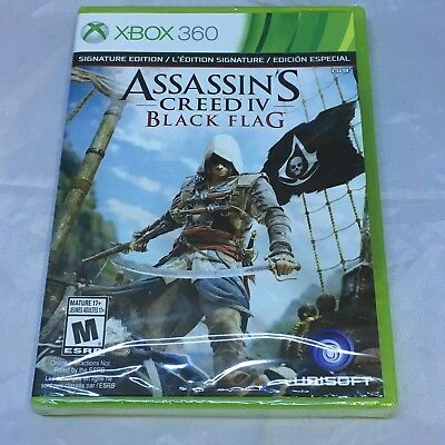 Assassin's Creed IV: Black Flag SP/Non SP, Xbox 360, Brand New