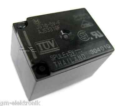 JS1 A-5V-F Relais POWER RELAY, 5VDC, 10A, SPST-NO, 4pins