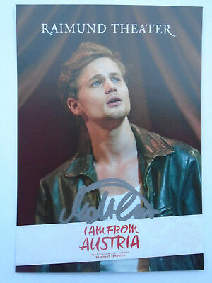Matthias Trattner - I am from Austria - Musical - Raimund Theater - Autogramm