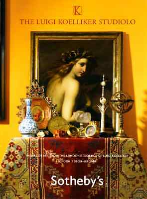 Sotheby's The Luigi Koelliker Studiolo : Works Of Art From The London Residence