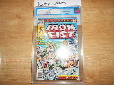 Iron Fist 14 - First Appearance of Sabretooth CGC 9.2