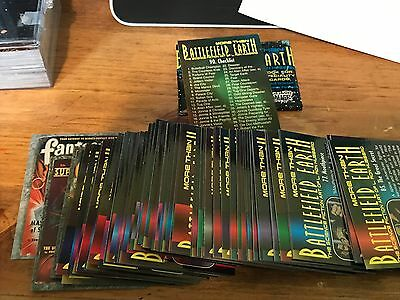 Complete set of 1995 Comic Images More Than Battlefield Earth L. Ron Hubbard