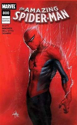 (2018) AMAZING SPIDERMAN #800 GABRIELE DELL'OTTO 1:25 Variant Cover! RED GOBLIN!