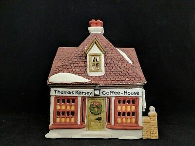Dept 56 Dickens Village - Thomas Kersey Coffee House
