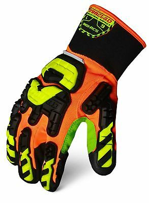 Ironclad INDI-RC5-06-XXL Industrial Impact Rigger Cut 5 Gloves, XX-Large