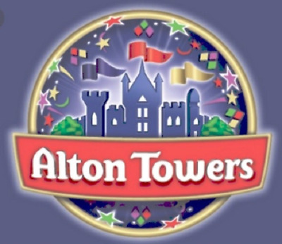 Alton Towers E-Tickets x 2 - Sunday 17th June 2018 - Please Read Description