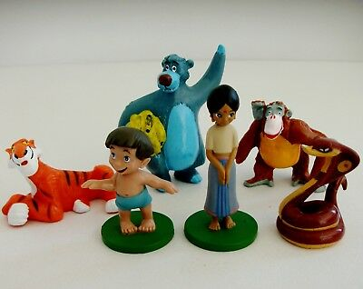 Disney Jungle Book Mixed Toy Mini Figure Bundle