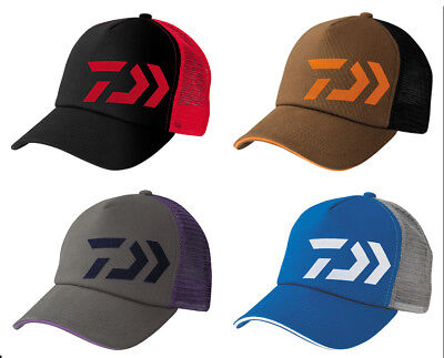 Daiwa D-Vec Trucker Cap Adjustable Hat - Bass Fishing Apparel - Select Color