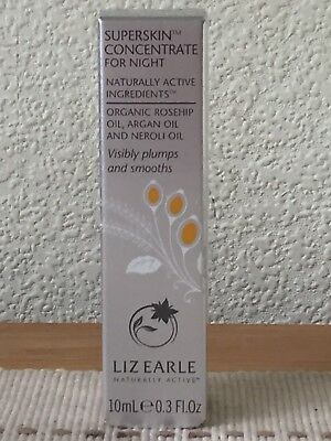 Liz Earle Superskin Concentrate For Night 10Ml Rollerball Bnib