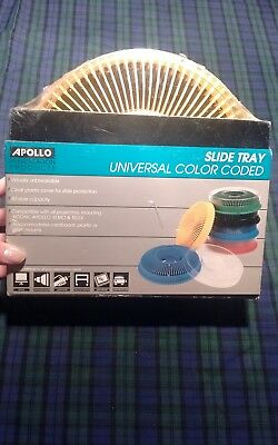 Apollo Presentation Products Slide Tray #3280-05/Yellow New and Sealed