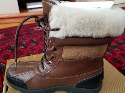 c1690462f92 UGG 1005582K BUTTE II WORCESTER WATERPROOF WINTER SNOW BOOTS KIDS SIZE 3  Youth