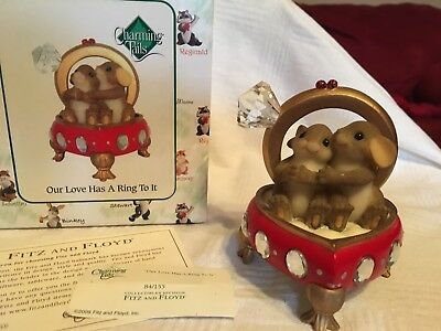 """Charming Tails """"OUR LOVE HAS A RING TO IT""""  DEAN GRIFF NIB"""