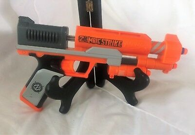 Nerf Zombie Strike ZED Squad Clear Shot Dart Gun Blaster  with Darts TESTED
