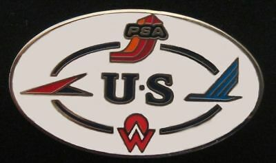 US Air/US Airways Heritage Circle Pin - America West/PSA/Piedmont/Allegheny Air
