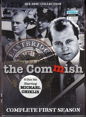 """THE COMMISH TV SERIES * MICHAEL CHIKLIS  Complete Season One (6 DVD Discs) """"NEW"""
