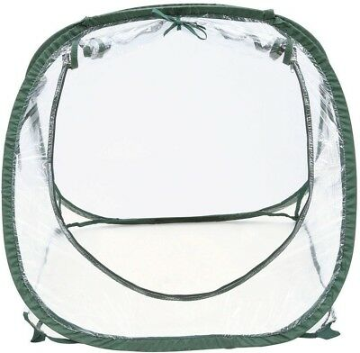 FlowerHouse Greenhouse Pop Up Portable Clear Seed Starter Lightweight Compact