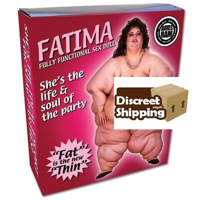 FATIMA The Inflatable Blow Up Doll Fun Novelty Hen Stag Party. birthday present