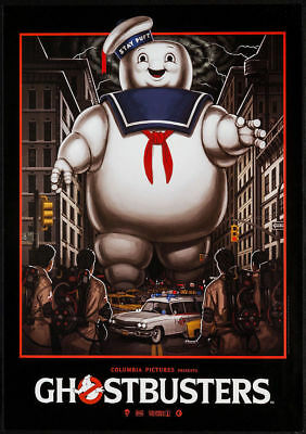 Ghostbusters Classic Vintage Movie Poster A5..A4 And A3..A2 Options