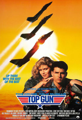 Top Gun Classic Vintage Movie Poster A5..a4 And A3 Options
