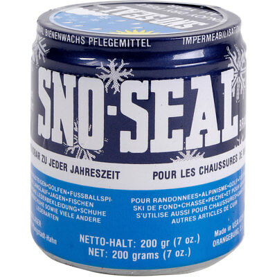 Sno-Seal Schuhpflege Wax Dose 200g Outdoor & Camping