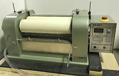 New Exakt Three Roll Mill  120S-450 / 3 Roll Mill / 6 mo. wrty / Never Used