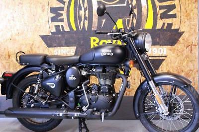 Royal Enfield Classic 500 Efi E4 Stealth Edition Just 97 Miles!