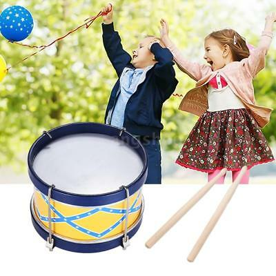 Snare Drum with Drum Sticks Strap for Children Kids Percussion Instrument M9S7