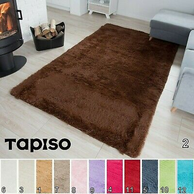 Small X Extra Large Thick Modern Shaggy Rugs Furry Fluffy Non-Shed Non-Slip Rug