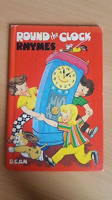 Vintage book: Round the Clock Rhymes, Violet M. Williams, Dean & Son, 1972.