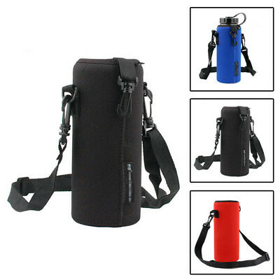 1000ml Sport Water Bottle Neoprene Cover Insulated Sleeve Case Pouch Holder New