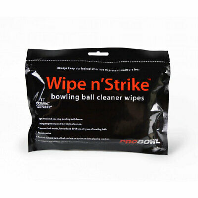 Bowling Ball Reinigungstücher Wipe n' Strike Cleaner Wipes Reiniger Tücher