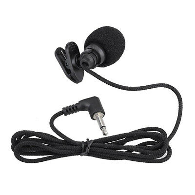 Mini Portable Clip-on Lapel Hands-free 3.5mm Jack Condenser miniphone Mic f F9V7