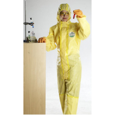 Lakeland Disposable Protective Chemical Suit Type 4 Taped Seams Coverall L-2XL