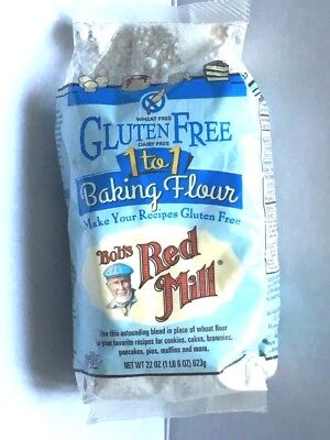 Bob's Red Mill Gluten Free 1 to 1 Baking Flour 22 oz (623 g) Pkg