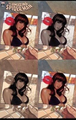 Amazing Spiderman 800 Adam Hughes A B C D Variant 4 Pack Set Nm Pre-Sale 5/30