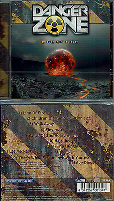 Danger Zone - Line Of Fire (remastered, 1989/2011) Melodic Rock, Red Dawn,Winger