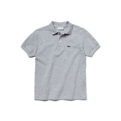 Clothes, Shoes & Accessories Lacoste Kids Crew Neck T-Shirt Junior Boys Cotton Tops Tee TJ6145-FA5 White Boys' Clothing (2-16 Years)
