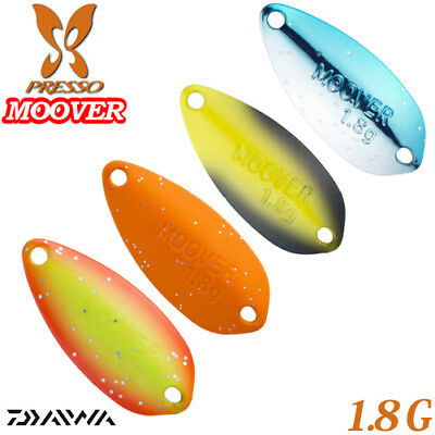 Daiwa PRESSO MOOVER 1.8 g Trout Spoon Assorted Colors